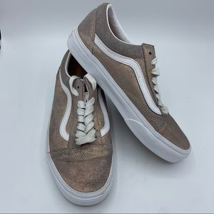 Vans Old Skool Sneakers Size 8 Lace Up Shoes